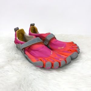 Vibram Five Fingers Neon Pink Orange Shoes